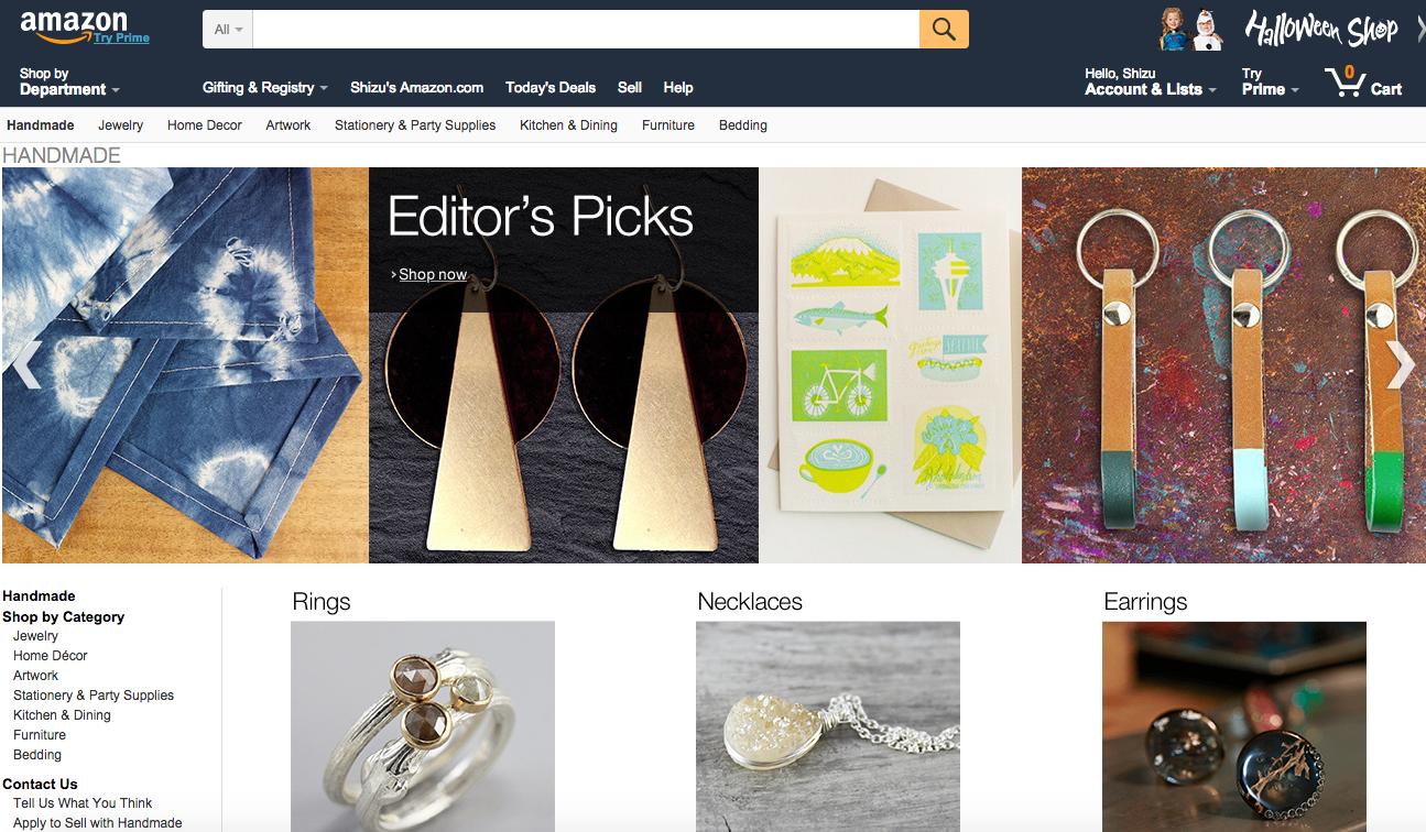 米国EC・小売HOT NEWS【9】〜Handmade at Amazon体験レポート〜