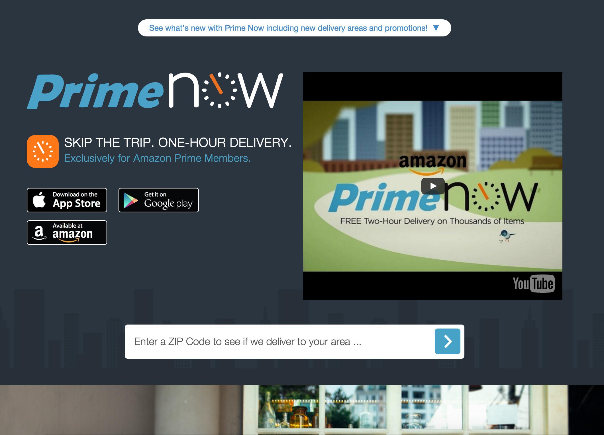 米国EC・小売HOT NEWS【番外編】米国小売・Eコマースのココが気になる!〜Amazon Prime Now & Jet〜