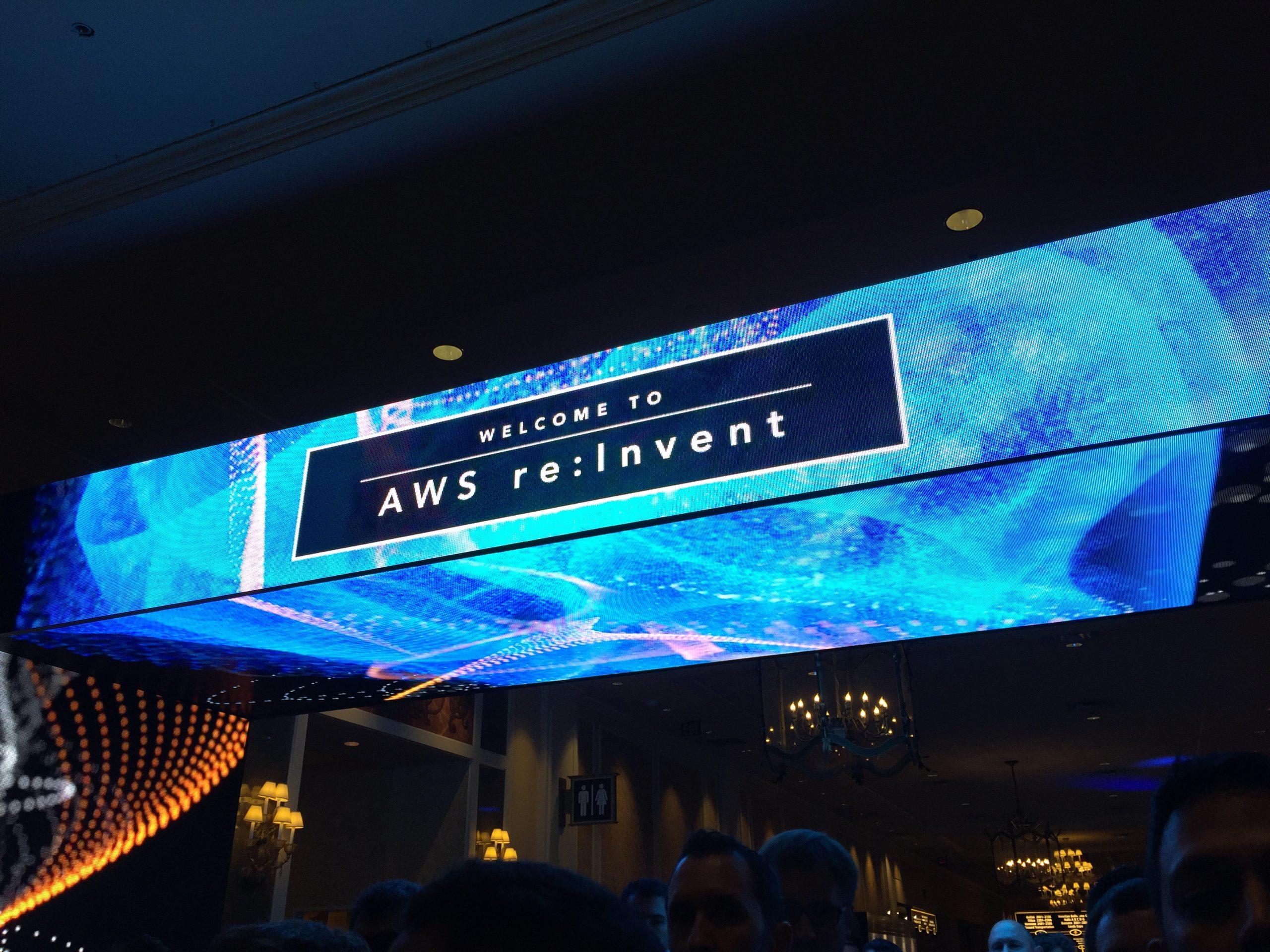 AWS re:Invent 2016に参加しています!