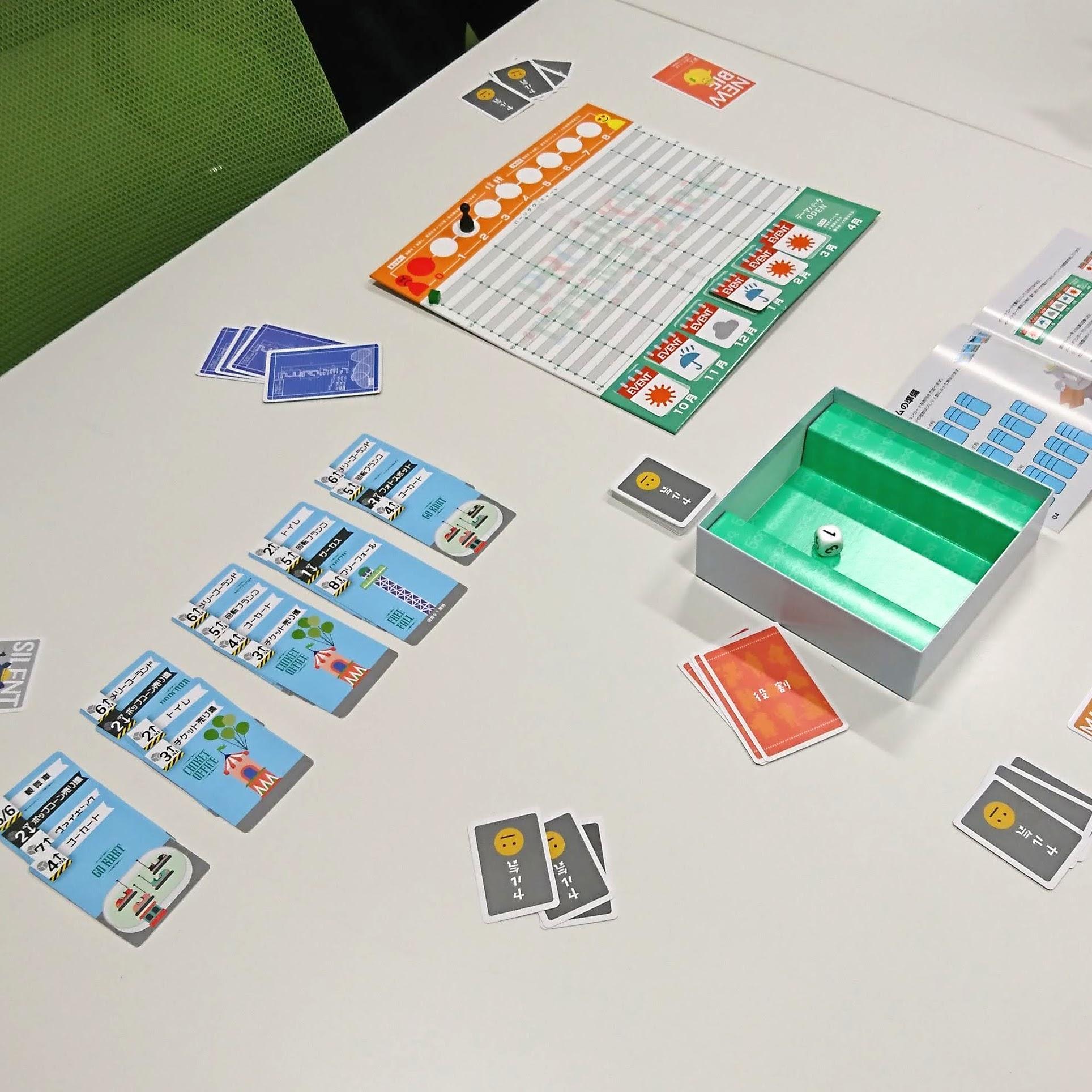 ボードゲーム「プロジェクトテーマパーク」をプレイ!